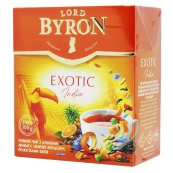 Чай черный Lord Byron Exotic 100г