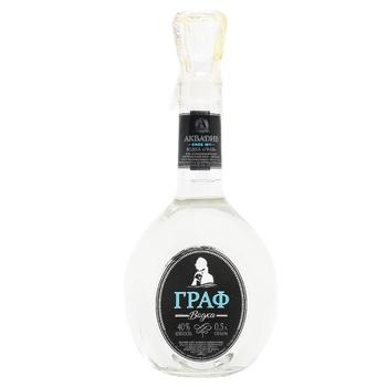 Aquadiv Graf Vodka 40% 0,5l