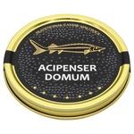 Acipenser Domum️ Black Sturgeon Caviar Can 100g