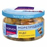 Norven mussels in the spicy sauce 210g