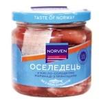 Сельдь Norven в кисло-сладком маринаде с пряностями 190г