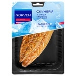 Norven Hot Smoked Mackerel Fillet on Skin with Pepper 300g