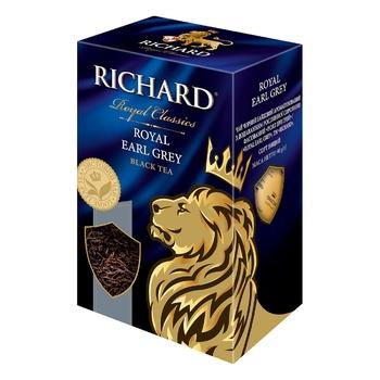 Чай чорний Richard Royal Earl Grey 90г