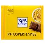 Шоколад Ritter Sport с кукурузными хлопьями 100г