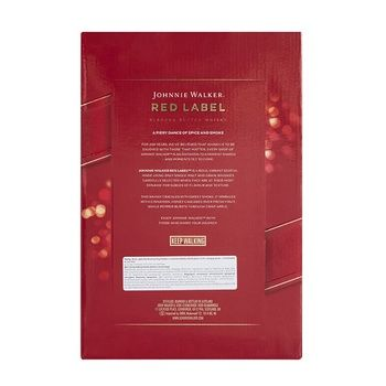 Виски Johnnie Walker Red Label 40% 0.7л + 2 стакана - купить, цены на Ашан - фото 5