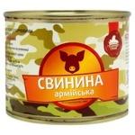 Rodynnyi Smak Army Stewed Pork Meat 525g