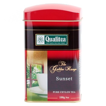 Qualitea Sunset Pure Ceylon Black Tea 100g - buy, prices for EKO Market - photo 3