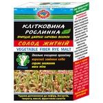 Клітковина Golden Kings of Ukraine рослинна солод житній дієтична добавка 190г