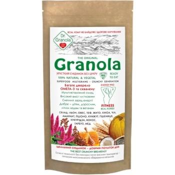 Golden kings of Ukraine Dr.Granola Granola Crispy Sugar Free Breakfast 150g