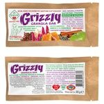 Golden kings of Ukraine Dr.Granola Grizzly for diabetics apple-cinnamon free sugar grains candy bar 30g