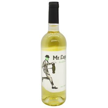 Вино Mr. Cup 0,75 л н/сол. біле (Іспанія)