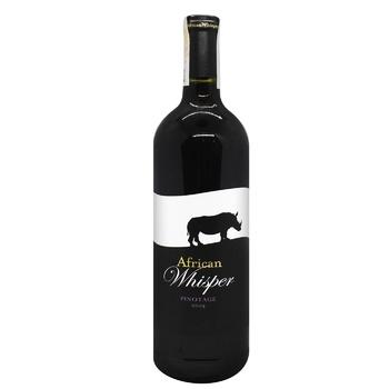 Вино African Whisper Пинотаж сухое красное 0,75л