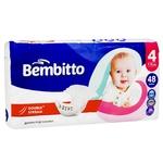 Підгузники дитячі Bembitto 4 7-14кг 48шт