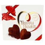 Цукерки Марія Truffle Hearts шоколадні 120г