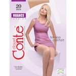 Conte Nuance 20 Den Natural Tights for Women Size 3