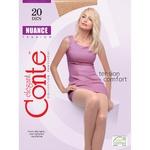 Conte Nuance 20 den Women's Black Tights size 2