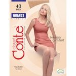 Nuance Conte 40 Den Bronz Tights for Women Size 2