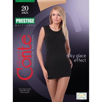 Колготы женские Conte Prestige 20ден р.2 Nero