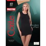 Conte Elegant Prestige Nero 40 Den Womens Tights Size 4