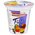Йогурт Frankenland Ананас, мандарин, лесные ягоды, персик, маракуйя, клубника 3,5% 125г