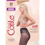 Колготы женские Conte Bikini 40ден р.4 Nero