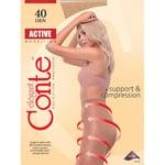Колготи жiночi Conte Active 40ден р.4 Natural