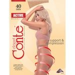 Conte Active 40 Den Bronz Tights for Women Size 4