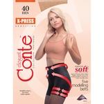 Колготы женские Conte X-Press 40ден р.5 Nero