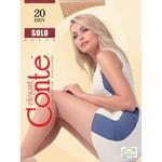 Колготы женские Conte Solo 20ден р.4 Natural