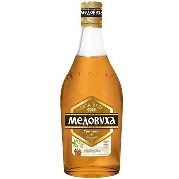 Настойка Медовуха Гречневая 40% 0,5л