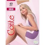 Колготы жіночі Conte Solo 40ден р.3 Mocca