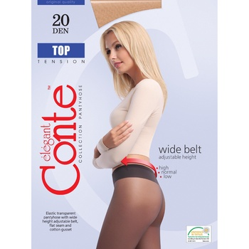 Conte Top 20 den Nero Tights for Women Size 2 - buy, prices for CityMarket - photo 1