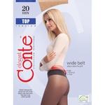 Колготи жіночі Conte Top 20ден р.4 Nero