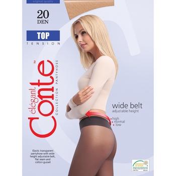 Колготы женские Conte Top 20ден р.4 Nero - купить, цены на Novus - фото 1