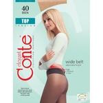Колготы женские Conte Top 40ден р.3 Nero