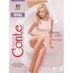Колготы женские Conte ideal 40ден р.3 Nero