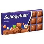 Шоколад Schogetten молочний з нугою 100г