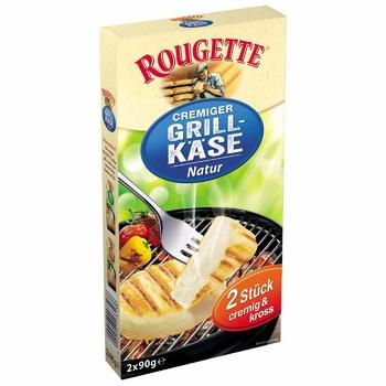 Сир Rougette Cremiger Грількейс вершково-м'який 55% 2*90г - купити, ціни на УльтраМаркет - фото 1