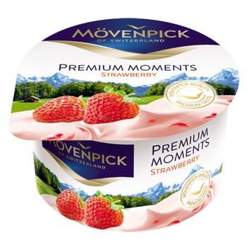 Йогурт Movenpick Premium Moments Клубника 5% 100г - купить, цены на Восторг - фото 1