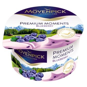 Йогурт Mövenpick Premium Moments Черника 5% 100г