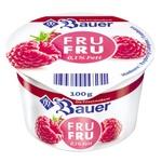 Bauer Fru Fru Yogurt Raspberry 0.1% 100g