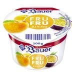 Йогурт Bauer Fru Fru Персик-Маракуйя 0,1% 100г