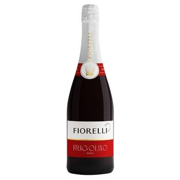 Напій ароматизований Fiorelli Fragolino Rosso на основі вина 7% 0,75л