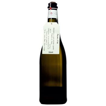 Вино игристое Fiocco di Vite Moscato d'Asti DOCG белое сладкое 5,5% 0,75л