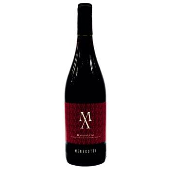 Вино Menegotti Bardolino красное сухое 12% 0.75л