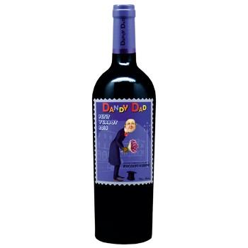 Вино El Soleado Happy Family Dandy Dad Petit Verdot красное сухое 14.5% 0,75