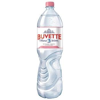 Вода Buvette Vital минеральная негазированная 1,5л