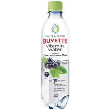 Buvette juice drink with black currant and mint 0,5l - buy, prices for Auchan - photo 1