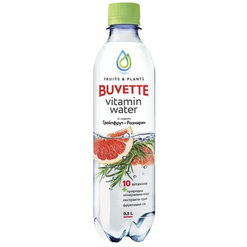 Buvette juice drink with the grapefruit and rosemary 0,5l - buy, prices for CityMarket - photo 1