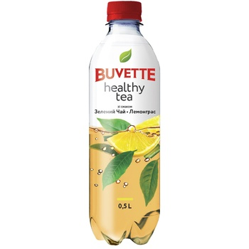 Buvette Drink Healthy Tea Green Tea 0.5l - buy, prices for Auchan - photo 1